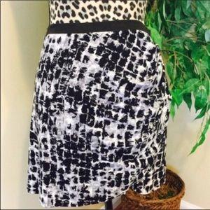 ⚡️🆕 NWOT BCBGMaxazria Snake Printed Mini Skirt